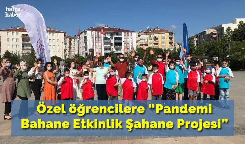 """Özel öğrencilere """"PandemiBahane Etkinlik Şahane Projesi"""